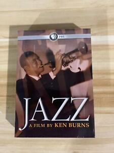 BRAND NEW SEALED Jazz A Film By Ken Burns PBS 10-Disc DVD  Set  UK compatible