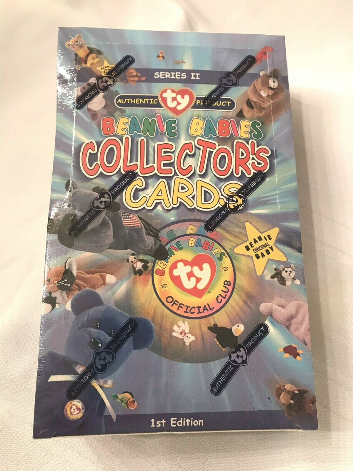 TY BEANIE BABIES 1st Edition Series 2 Collectors Cards Factory Sealed BOX