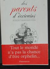 Une histoire des parents d'écrivains Boquel  Anne   Kern  Étienne Occasion Livre