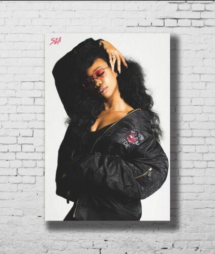 Sza Hot Top Soul Music Singer Custom New Print Poster 18 24x36 27x40 P-1106