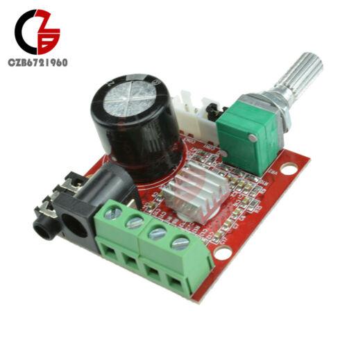 12V Hi-Fi PAM8610 Audio Stereo Amplifier Board Module Dual D Class Channel 2X10W