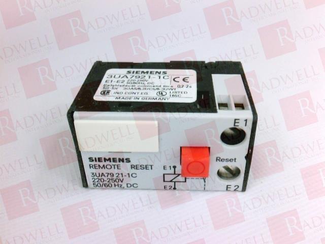 SIEMENS 3UA7921-1C   3UA79211C (NEW IN BOX)