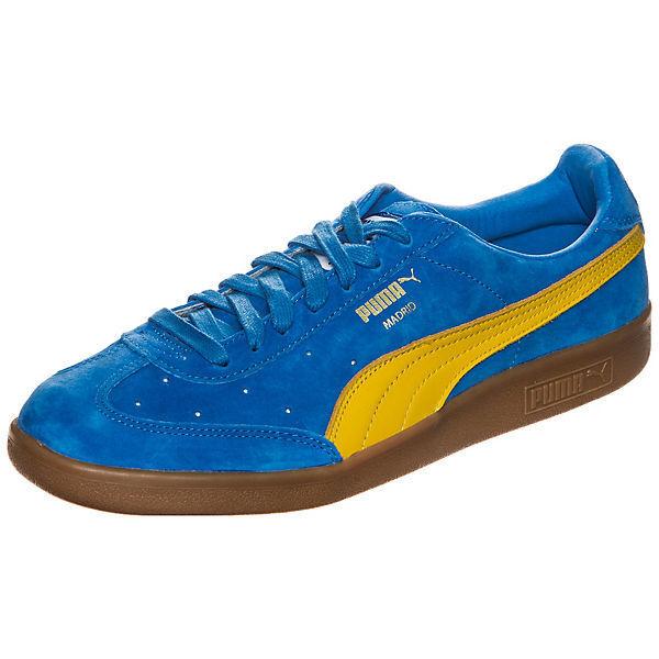 Puma Homme Madrid 2 L Baskets Bleu/Jaune 36466602 UK 6.5, 7.5, 8, 9, 9.5-