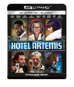 HOTEL-ARTEMIS-4K-UHD-Blu-ray-New-FREE-SHIPPING-4K-Crime-Drama-Film-Noir