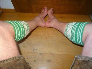 Trachtenmode Ur-oidÉ Wahnsinns BÄrige Handgestrickte Trachten Loifer´l/stutzen,heavy Used Dauerhafte Modellierung Volkskunst