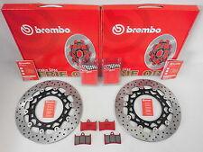 Brembo Bremsscheiben vorne kompl. Sinter Beläge Yamaha YZF-R6 600 RJ09 RJ11 RJ15