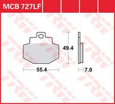 TRW Lucas Plaquette De Freins McB727lf Derrière Piaggio Vespa GT Gts Gtx 125