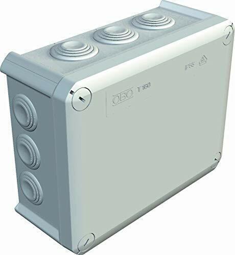 Bettermann IP66 Boîte de dérivation pour câble 190 x 150 x 77 mm 16 mm