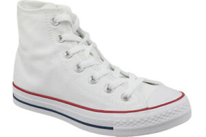 ce35625b916 Converse Chuck Taylor All Star Hi Shoes Optical White M7650c Sneaker ...