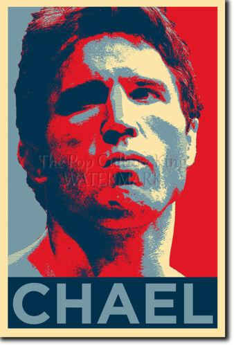 Chael Sonnen impresión fotográfica 2 Poster De Regalo Obama esperanza inspirado Mma