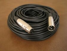 100Ft XLR 3-Pin Male Female Mic Microphone Audio Cord Shielded Cable 100 Ft Foot