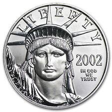 2002 1/2 oz Platinum American Eagle Coin - Brilliant Uncirculated - SKU #75865