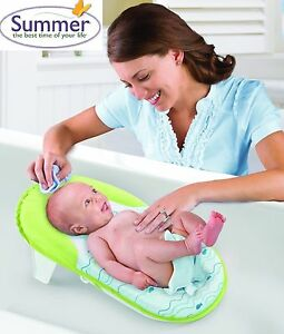 Travel/Portable Folding Baby Bath Support/Chair/Seat/Cradle ...