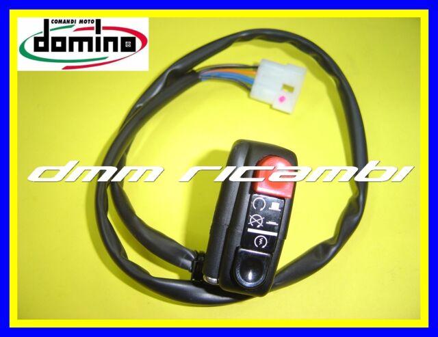 Comando elettrico DOMINO Moto universale pulsanti Avviamento/Arresto Motore Stop