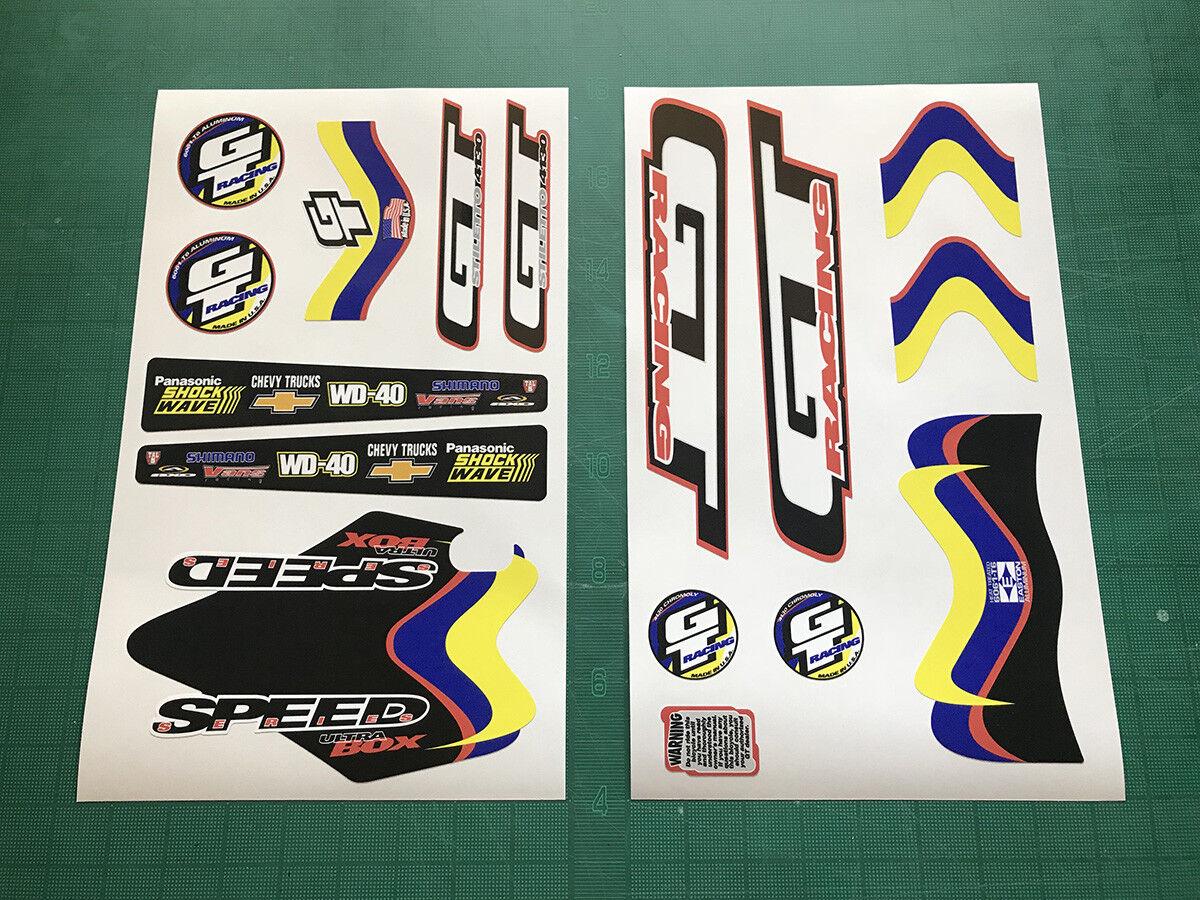 2000 GT Speed Series Ultrabox 24  Cruiser Decal Set