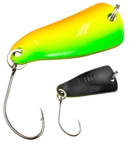FTM Trout Spoon Forellenblinker Rumba 817 1,6g UV Rainbow Braun 5200817 UL