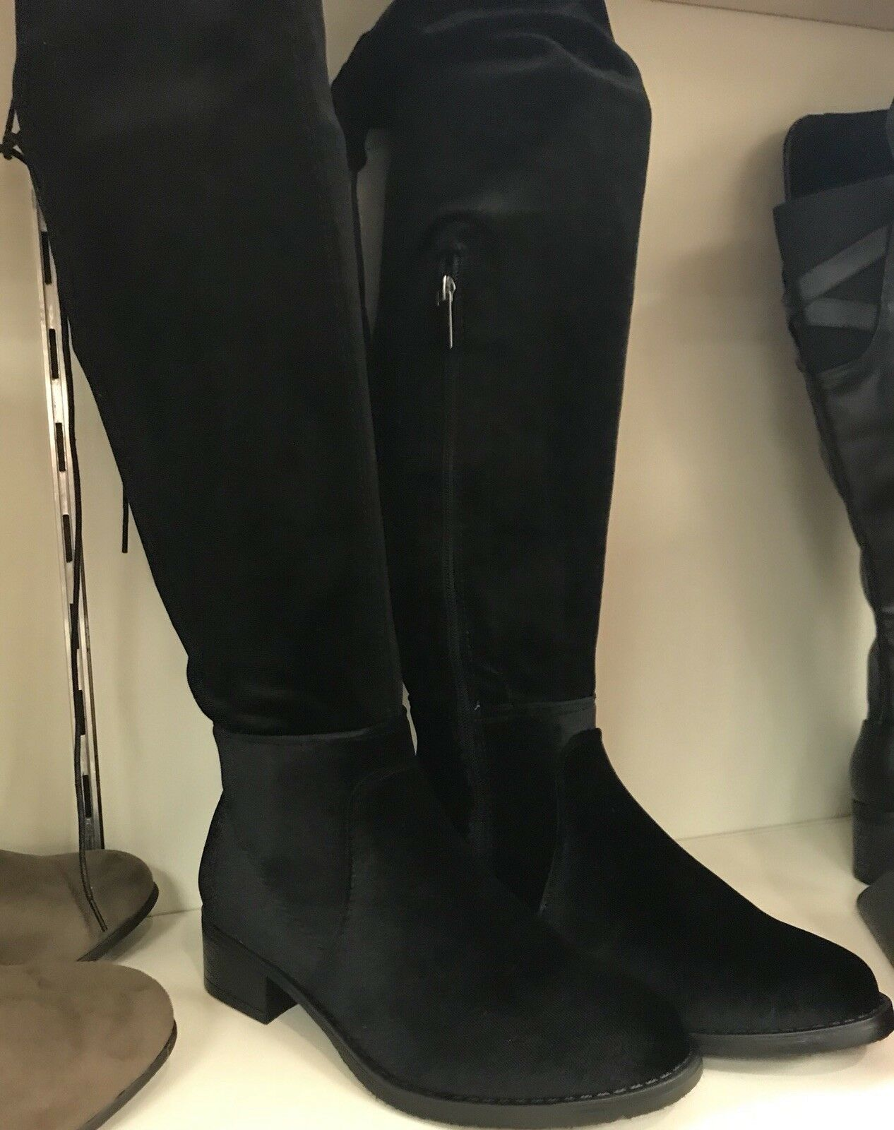 Avenue Womens Suede Over The The The Knee Boots 12w 2607e9