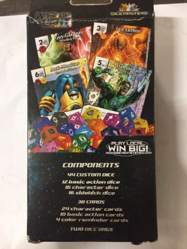 Dice Masters Marvel D.C./'s War Of Light 2-player Starter Set For Dice Game