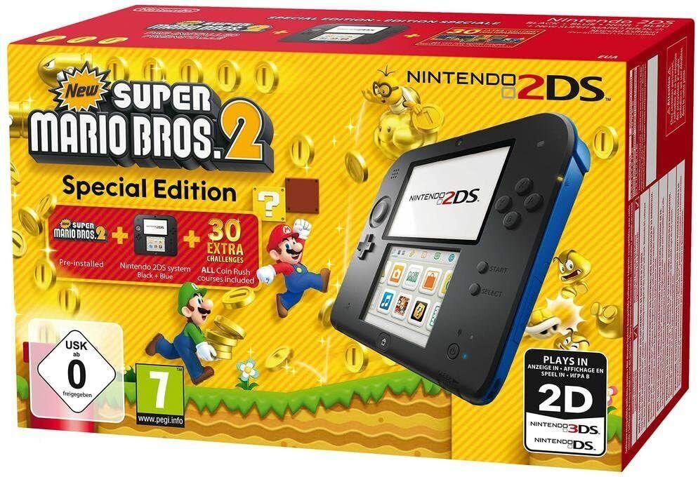 videogiochi e console: NINTENDO 2DS – CONSOLE GIOCO NEW SUPER MARIO BROS 2 NUOVA GAR (Special Edition)