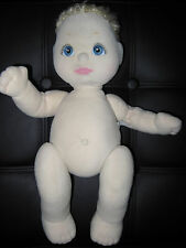 MY CHILD DOLL Needs TLC Blonde Girl Blue Eyes Pink Makeup Haircut