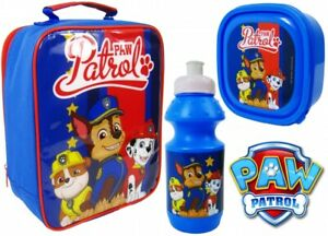 OFFICIAL LICENSED PAW PATROL CHILDRENS LUNCH BAG SCHOOL BAG GIRLS BOYS BOX BAG