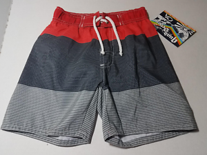 NWT BOYS QUAD SEVEN SWIMWEAR SWIMTRUNK SWIM TRUNKS