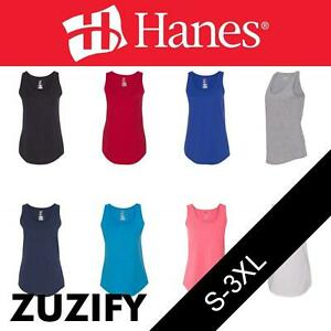 3f59a0cb Image is loading Hanes-Ladies-X-Temp-Performance-Tank-Top-42WT