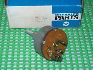 Details about 1962 63 64 65 Belvedere Polara 330 440 Sport Fury B Body  Blower SWITCH NOS MoPar