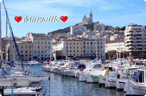 Aimant Bouclier Réfrigérateur Magnétique Marseille II magnétique-Motif