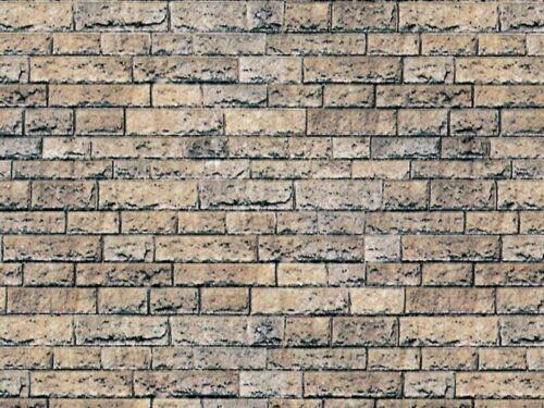 VOLLMER 46038 muro piastra basalto di cartone 25 x 12,5 CM traccia h0
