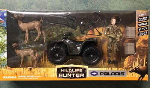 NewRay Wildlife Hunter Polaris RZR1000 ATV Ducks Dog Guns SS-76066 play set