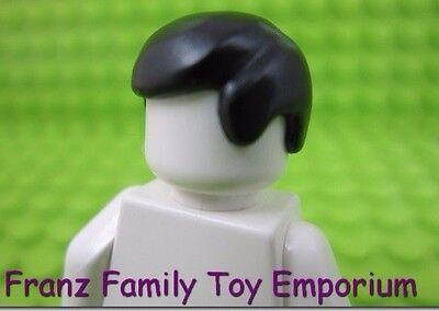 Lego Dark Orange HAIR Minifigure Star Wars Kenobi  Harry Potter Boy Head Gear
