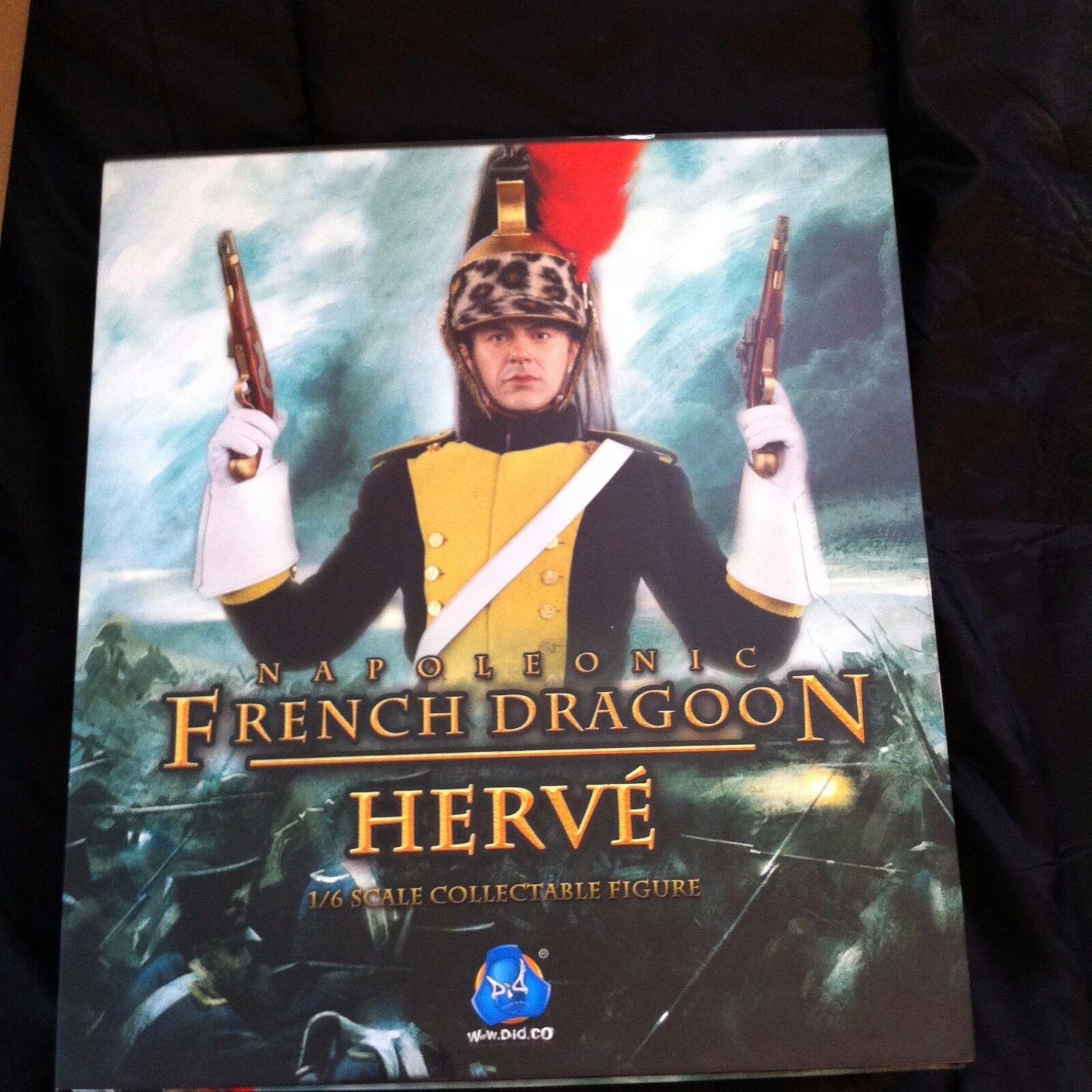 1 6 N80104 napoleónicas dragón francés Herve DID Nuevo
