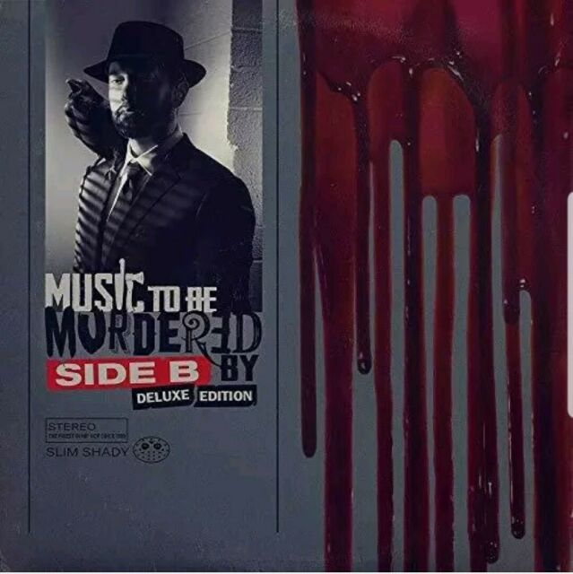 EMINEM CD - MUSIC TO BE MURDERED BY: SIDE B [2CD DELUXE](2021) -Brand NEW SEALED