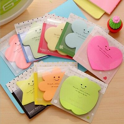 5x Cute Sticker Post It Bookmark Point Marker Memo Flag Sticky Notes Candy Paper