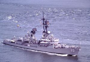 USS LUCE 8X10 PHOTO NAVY US USA MILITARY DDG-38 SHIP GUIDED MISSILE DESTROYER