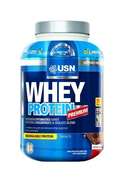 Whey Protein g Premium USN 2280 g Protein + Hammer Gutschein Eur26.27/kg 209e2f