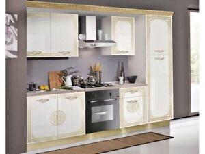 Cucina componibile senza elettrodomestici modello Donatella design ...