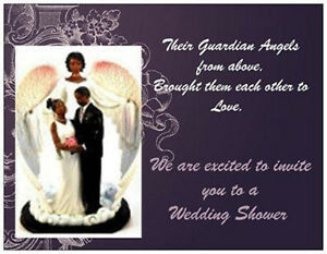 image is loading 20 african american wedding bridal shower invitations cards
