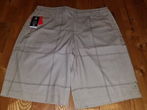 f8f0165135616 NWT Mens Khaki HANG TEN Light Weight Quick Dry Stretch Beach Streets ...
