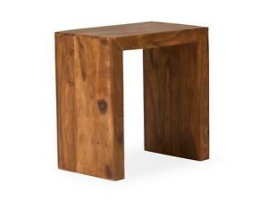 Beistelltisch Tisch Groß Honig Palisander Holz Möbel Wohnen Tische
