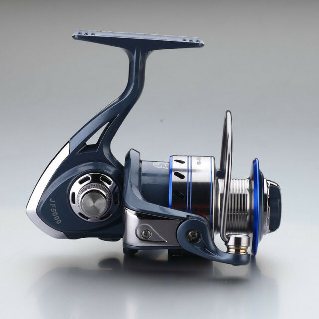 12+1 BB Bearings 5.5:1 Rock Chinu Lure Spinning Reels Fishing Speed Gear Spool