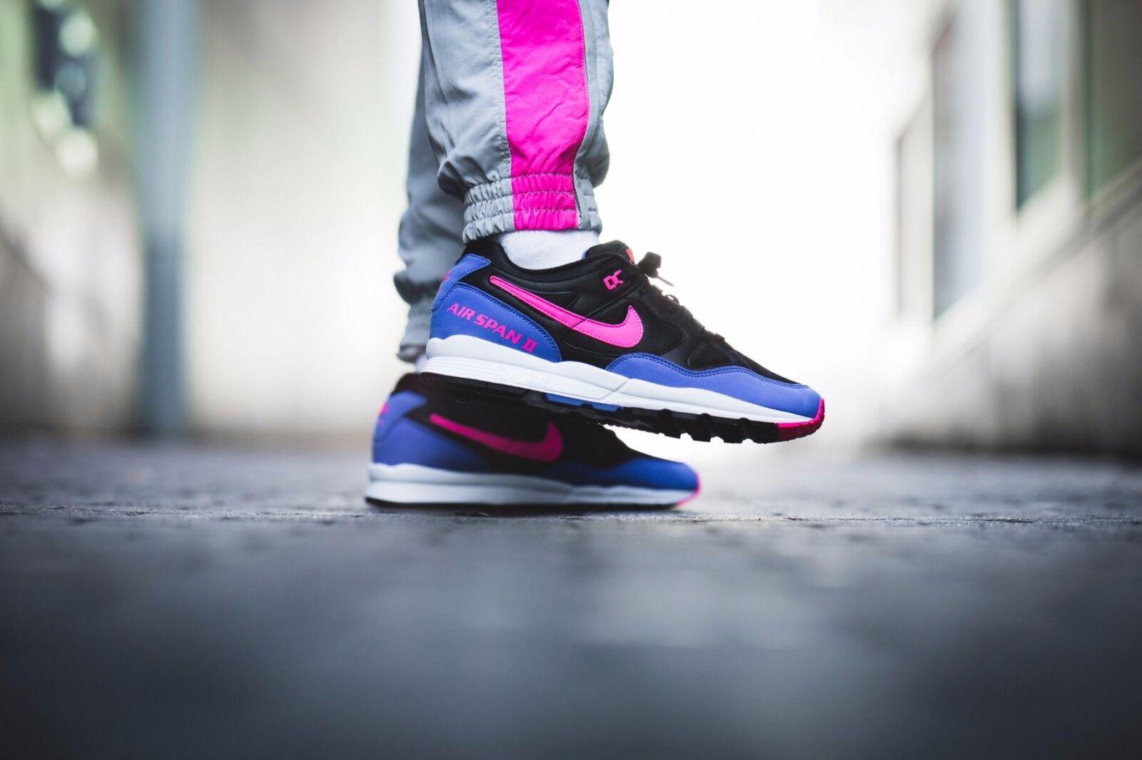 Nike iper air span ii nero iper Nike - rosa noi Uomo scarpa dimensioni ah8047-003 4024be