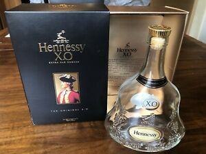Hennessy XO Extra Old Cognac 750ml Empty bottle with box