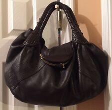 Authentic Fendi Spy Leather Handbag