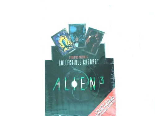 1992 STAR PICKS ALIEN 3 CARD BOX