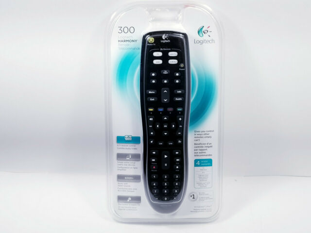 Logitech Harmony 300 All in One Universal Remote Control New Sealed