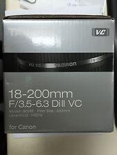 Tamron AF 18-200mm f/3.5-6.3 Di II VC Lens B018E for Canon EOS APS-C DSLR's EF-S