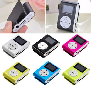 Portable Digital MP3 Player Clip USB Music Play Support 16GB Micro SD TF Card