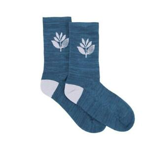 Genuine Magenta Plant Socks - Teal